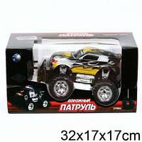 Радиоуравляемый Джип-дорожный патруль,лучшая игрушка для мальчика