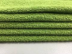 Ткань махровая зеленая 20х40
