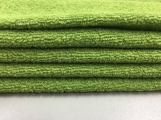 Ткань махровая зеленая 20х40, фото 2
