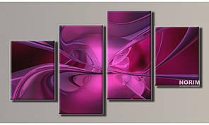 "Модульная картина на холсте ""Абстракция 5"" (HAF-049)"