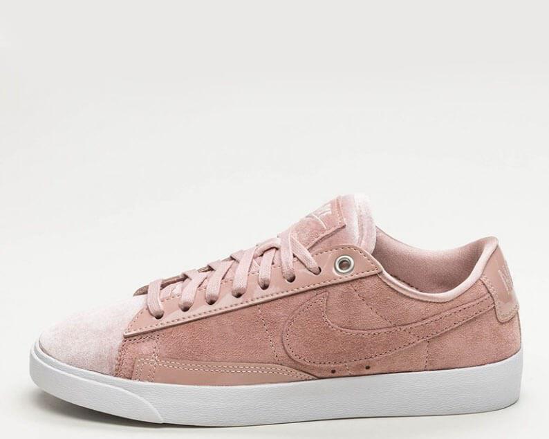 "Кроссовки Nike Blazer Low Surfaces ""Light Lavender Leather"". Стильные кроссовки найк. Женские кроссовки."