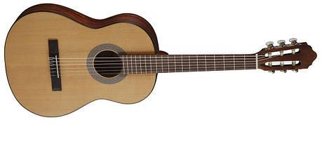 Класична гітара CORT AC70 (OP) w/Bag Зменшений корпус 3/4, фото 2