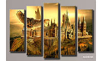 "Модульная картина на холсте ""Гарри Поттер"" (HAB-078)"