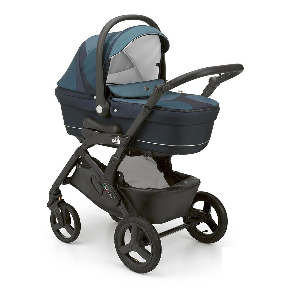 Детская универсальная коляска 3 в 1 CAM Dinamico Up Top Stone
