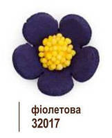 """Квітка """"ВЕСНЯНКА"""" колір Фіолетовий  (35шт.)"""