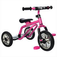 Трехколесный велосипед Profi Kids M 0688-4 для самостоятельной езды Pink