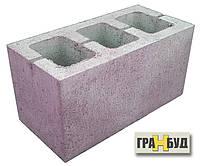 Блок строительный фиолетовый