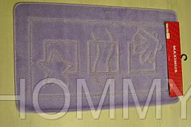 Коврик в ванную MARITIME LILAC 60x100 см