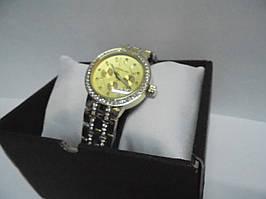 Часы наручные женские Michael Kors со стразами (золото),часы наручные Михаэль Корс, женские наручные часы