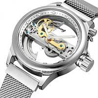 Мужские механические часы Forsining Metal с автоподзаводом