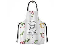 Фартук -передник кухонный 65*75 Master Chef