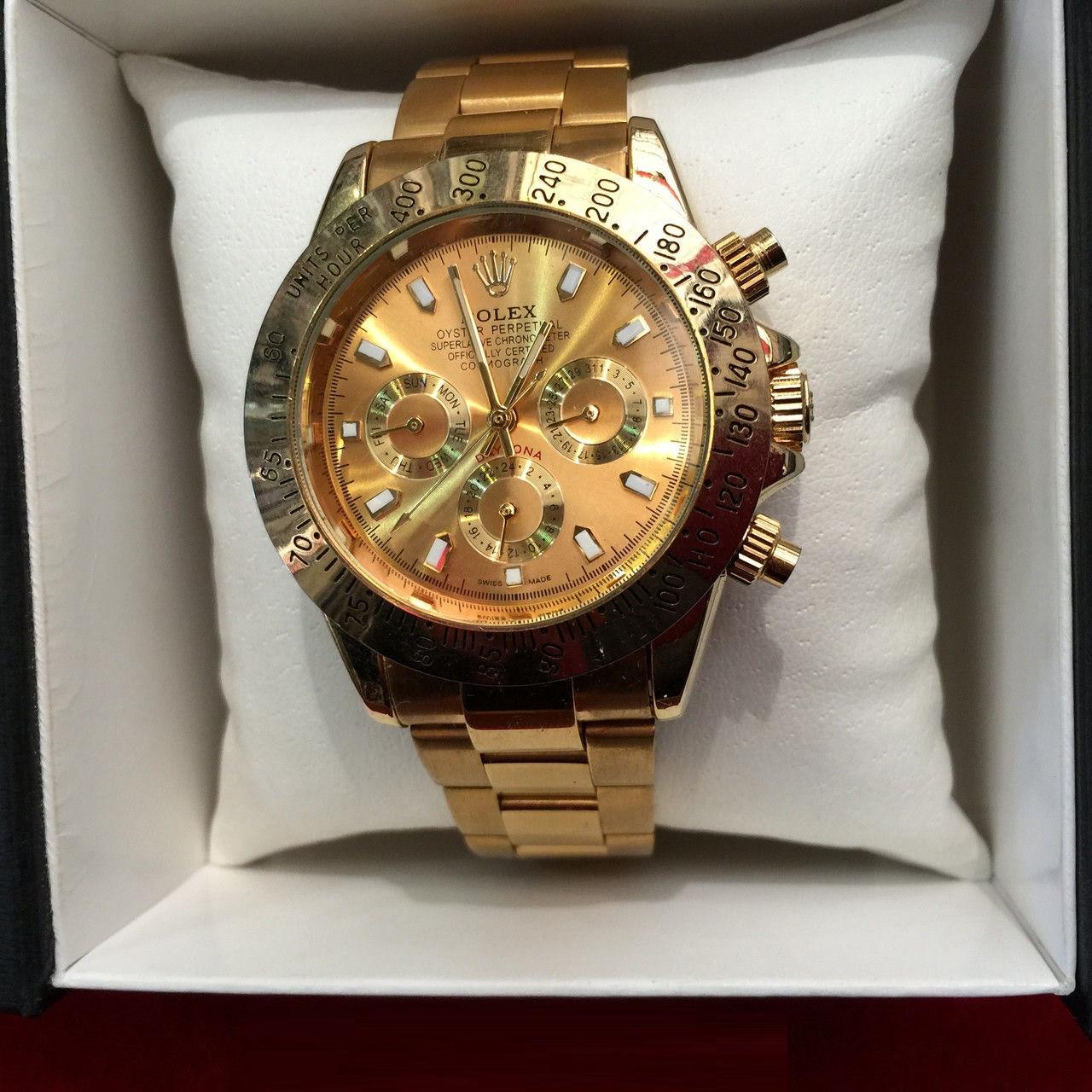 326ec383ac83 Наручные часы Rolex Daytona Gold,женские наручные часы, мужские, часы  Ролекс, эксклюзив