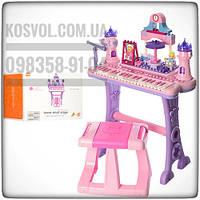 Детский рояль-синтезатор (пианино)со стульчиком