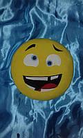 "Подушка смайл Emoji 35 см ""Сумасшедший"""