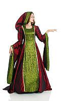 Ведьма в готическом стиле женский карнавальный костюм \ размер 42-44; 46-48 \ BL - ВЖ240