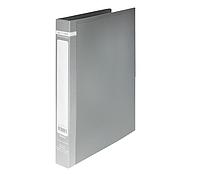 Папка пласт. з 2-ма кільцями, А4 (25мм), JOBMAX, сірий