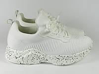 Кроссовки женские белые модные Lonza