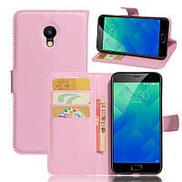 Чехол для Meizu M2 / M2 mini оригинальный книжка кожа PU розовый