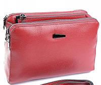 Женская кожаная сумка 8843 Red Женская кожаная сумка, кожаный женский клатч 129d49702ee
