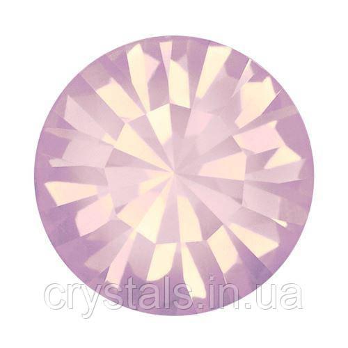 Пришивные стразы в цапах Preciosa (Чехия) ss39 Rose Opal/серебро