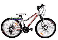 Велосипед с дисковыми тормозами Crosser Force 24