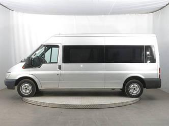 Передний салон, длинная база, левое стекло на Ford Transit 2000-
