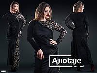 Элегантное бархатное платье в пол