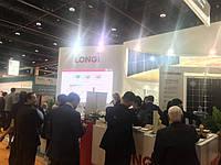 LONGi Solar на Всесвітньому енергетичному саміті в Абу-Дабі
