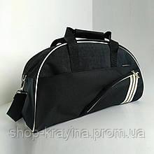 Жіноча сумка для спорту, 28*43*15 см, черн