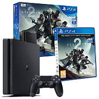 Sony PlayStation 4 Slim (PS4 Slim) 500GB + Destiny 2