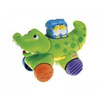 Инерционные зверьки Fisher -Price (крокодил) (примята упаковка)