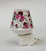 Фарфоровый ночник (светильник) Цветы Pavone JP-18/10