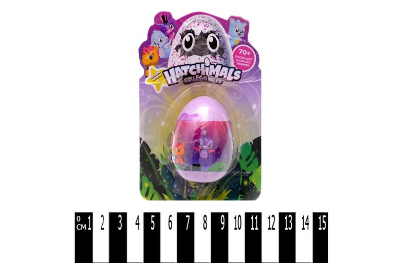 Коллекционные Фигурки в яйце аналог Хетчималс hatchimals (hatohinails), фантазийные зверьки в яйце, Копия