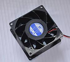 Вентилятор турбированый для сварки  24V, 0,43 А (80*80*38)