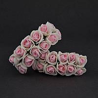 Розы из фоамирана 2 см, уп. 144 шт.