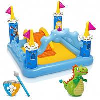 Надувной  игровой центр-бассейн  Intex 57138 Крепость