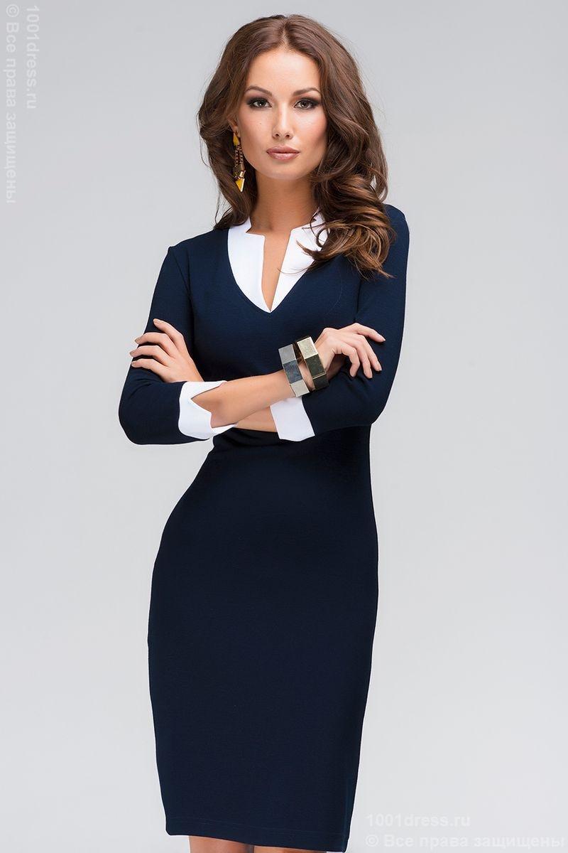 Офисное платье 2036
