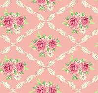 Ткань Tilda Rosalie Pink, 480102