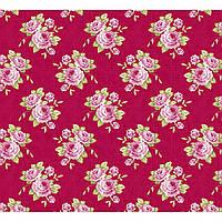 Ткань для рукоделия Tilda Grandma's Rose Red, 480178