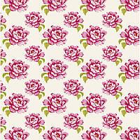 Ткань для рукоделия Tilda Peony White, 480273