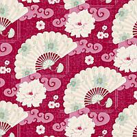 Ткань для рукоделия Tilda Chinese Fan Red, 480419