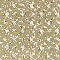 Ткань для рукоделия Tilda Lotta green, 480722