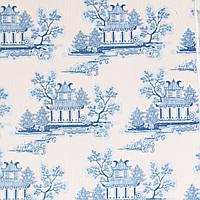 Ткань для рукоделия Tilda China Blue, 100727
