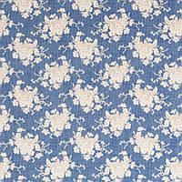 Ткань для рукоделия Tilda White Flower Blue, 100728