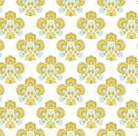 Ткань для рукоделия Tilda Folklore Green, 480014