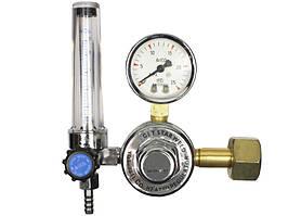 Редуктор з підігрівом для вуглекислоти і аргону AC 36 Вольт ProWeld YQAr-731L