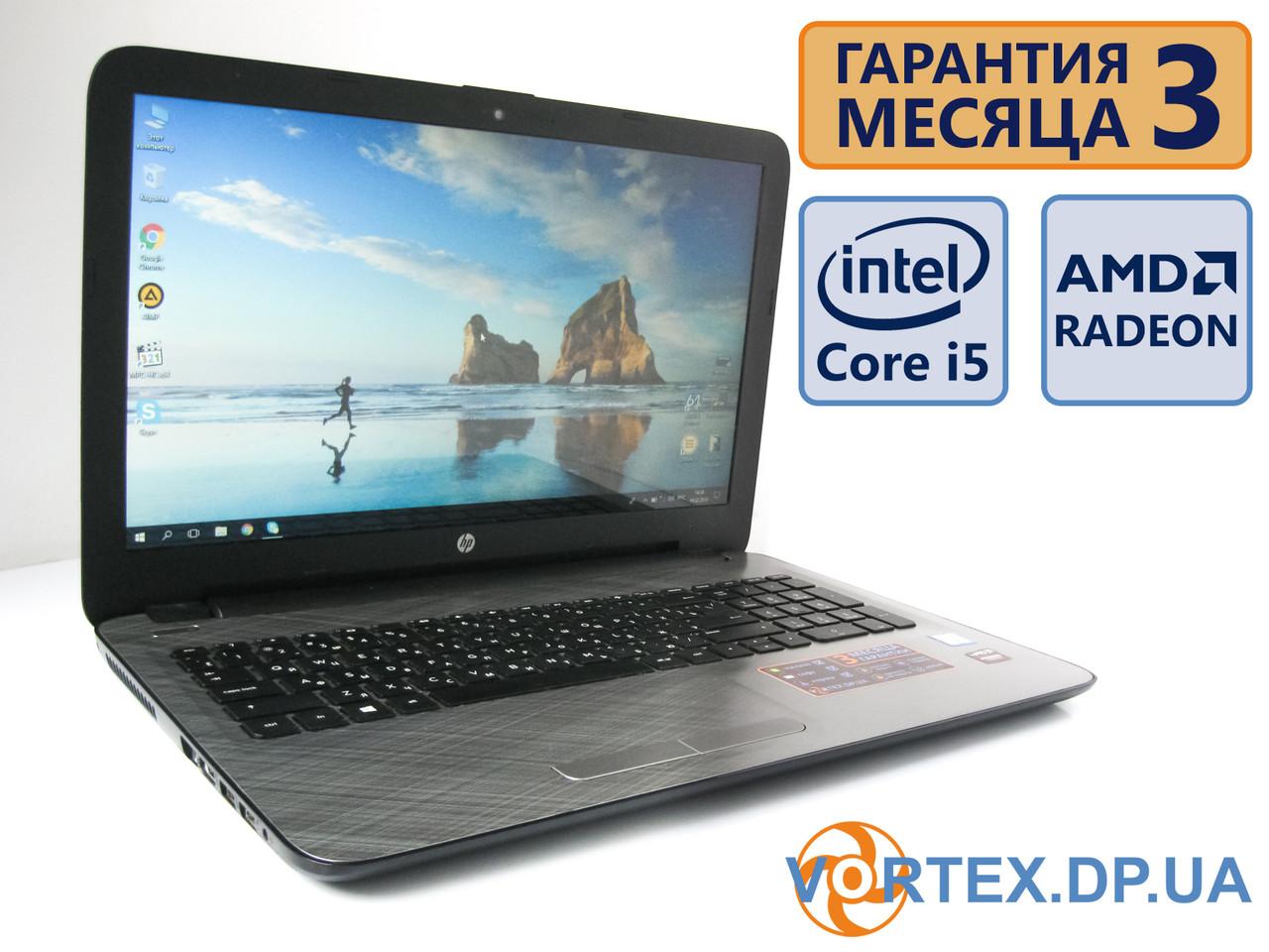 Ультрабук HP 15-ac650ur 15.6 (1366х768) / Intel Core i5-6200U (2x2,3GH