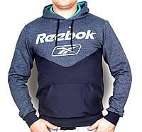 Мужская кофта спортивная Reebok с капюшоном
