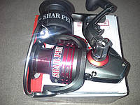 Катушка спиннинговая Bratfishing SHAR PEI 1000 FD 3+1 BB. Качественная рыбацкая катушка.