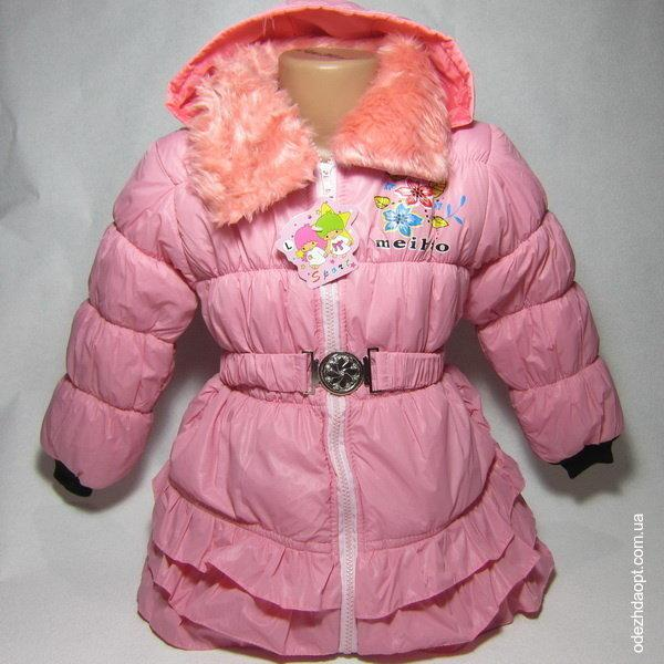 1824 Куртка SPORT Рюшики Осень-Весна